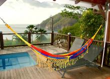 Villa créole avec piscine privative et vue sur mer
