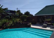 gite de 2 pers, piscine, spa à 900m de la mer des Caraïbes