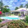 Jolie villa pour 4 personnes avec piscine en bordure de plage